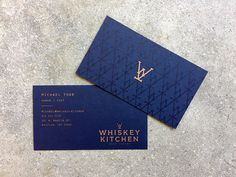 Whiskey Kitchen Business Card - Paul Tuorto