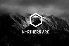 Northern Arc Logo Design #logo design #clean #outdoors #simple