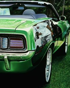 Realistic Old Polished Cars Paintings -10 #painting #car #art #realistic