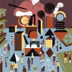 The New Yorker - BOYOUN KIM #illustration