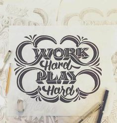 Work Hard, Play Hard by Scott Biersack