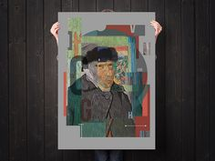 Vincent van Gogh by Dilk | Flickr - Photo Sharing! #gogh #van #flickr #dilk #dilkone #poster #vincent