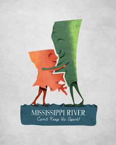 Louisiana Woman, Mississippi Man by Alex Felter on Behance #mississippi #louisiana #embrace #river #hug