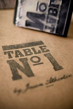 FFFFOUND! | Foreign Policy Design Group » Table Nº1 #stamp #branding #policy #design #graphic #foreign #identity #logo