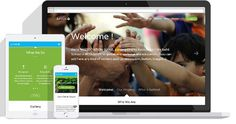 Free Responsive One Page Template for Charities : Juntos #template #shtml