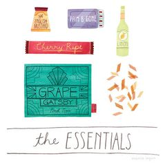 MarisaSeguin_TheEssentials_01 #illustration #food