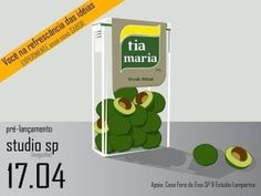my work for tia maria - a brazilian music age #tia #avocado #illustration #maria #tac #tic