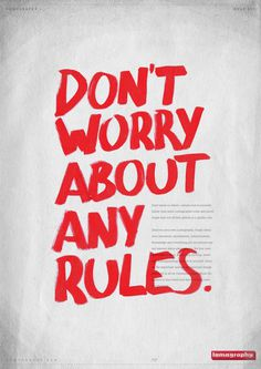 Posters for the Lomography's Ten Golden Rules. (The Ten Golden Rules)