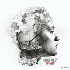 Jeffrey Dirkse Album design for 'Warface' called 'Art of War'