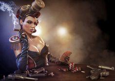 ArtStation - Sheibe, Jamie-lee Lloyd #poker #3d #girl
