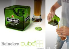 Concept Heineken Cube 2008 on the Behance Network #product #design #package
