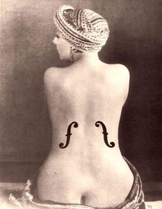 Le Violon d'Ingres - Man Ray, 1924 photo - Oleg Moiseyenko's Stock Photography photos at pbase.com #dingres #1924 #ray #violon #le #man
