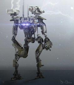 Sci-Fi Digital Illustrations by Patrick A Razo