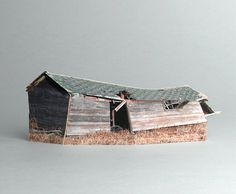 brokenhouses-8 #sculpture #house #art #broken #miniature