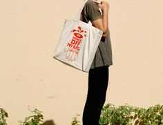 Large tote: Hands off my bag! #tech #flow #gadget #gift #ideas #cool