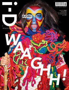 bjork i-d magazine cover