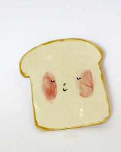 Ceramic Toast by Charlotte Mei #cute #toast #ceramic