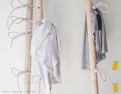 NUDO coat rack #craft #furniture #design #rack