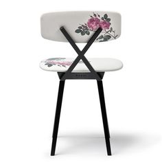 Room of One's Own writing room by Nika Zupanc for Miss Dior #chair #flowered #pattern