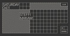 RA Tickets: Steffi, Makam at De School, Amsterdam