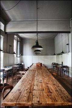 Kitchen I Pantry, wood table #interior #wood #kitchen #gray #table