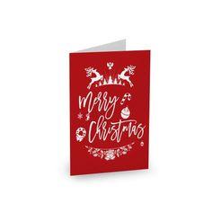 Christmas Winter #paperlust #christmas #holiday #christmascard #cards #card #holidaycard #photocard #photo #design #print #digitalprint #we