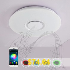 X9903Y #- #24W #- #LY #Promise #Music #Color #Conversion #Bluetooth #Ceiling #Light #- #WHITE