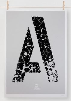 Editions of 100 — A IS FOR_ #poster