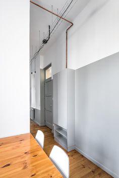 Strict Elegance by batlab architects. #batlabarchitects #entryway #hallway #minimalism