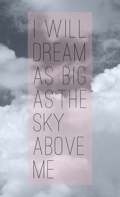 Dream Big poster #fonts #white #and #typograpjy #print #black #photography #poster #art