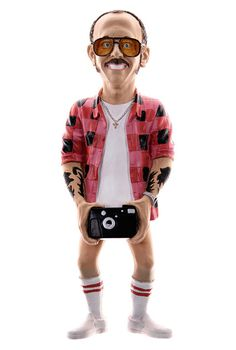 Terry Richardson Figure #terry #photographer #moustache