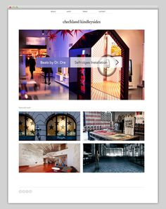 Checkland Kindleysides #website #layout #web
