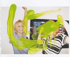 Jack Walsh #paint #jack #art #fashion #walsh #green