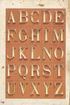 1882lettres 6 | Flickr - Photo Sharing! #specimen #typeface