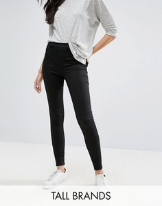 New Look Tall | New Look Tall – Jeggings mit hohem Bund