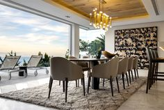 ARRCC Create a Modern and Sophisticated Cape Town Villa - InteriorZine #decor #interior #home #dining