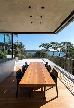 Balmoral Beach House – Concrete Sculptural Form Inspired by Brutalism