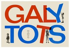 Creative Review - Galy Tots print by Ken Garland #ken #print #garland #catalogue #cover #art
