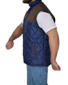 Alex Roe The 5th Wave Diamond Quilted Vest (6) F-L-O