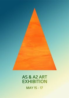 art+poster+for+blog.jpg (605×856) #design #graphic #orange #edd #triangle #gray #poster #art #type #blue