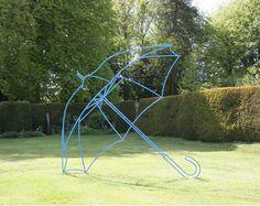 #umbrella #sculpture #outdoor #perspective