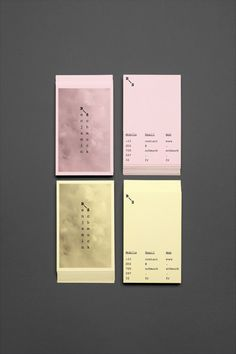 Graphic Design: Nice branding for an excellent photographer from Bureau Kayser #design #graphic