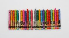 Intricate Crayon Sculptures Depict A Variety Of Animals [Pics] #type #crayon #sculpture #awesome