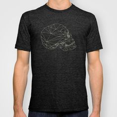 Skull T-shirt #fashion #skull #t-shirt #illustration