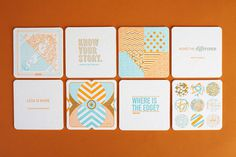 Anthem_Coasters_02 #cards #pattern #typography