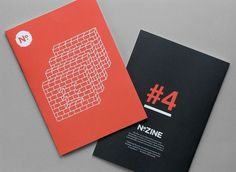 Lookwork: KeenanC's Library #type #red #zine #magazine