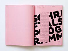 typografie standard by Tony Ziebetzki #editorial