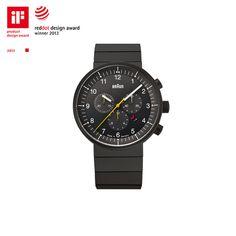 BN0095BKBKBTG #braun #design #industrial #watch