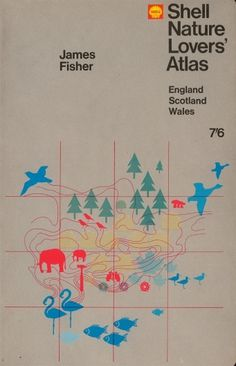 Shell-Nature-Lovers-Atlas.jpg (image) #book #cover #grid #illustration #nature