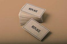 Free Vintage Realistic Business Card Mockups